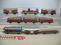 S527-2# 9x Kleinbahn H0/DC Güterwagen f Bastler: 47172, 270648, 59085,.. Kadee