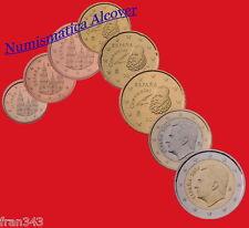 EUROS ESPAÑA 2016 Serie completa SC / SPAIN EURO SET UNC