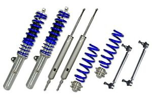 ADJUSTABLE COILOVER KIT FOR BMW 1 SERIES E87 2007–2011 + HD END LINKS - JOM