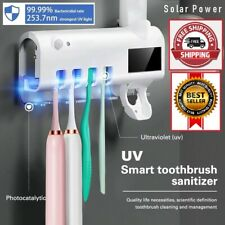 2 in 1 Solar Energy Antibacterial Light Ultraviolet Toothbrush Sterilizer