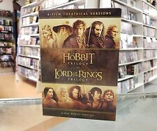 Lord Of The Rings & The Hobbit The Complete 6 Movie Dvd Collector's Set