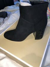 Michael  Kors Arabella Charcoal Suede Ankle Boot Size 9M NIB