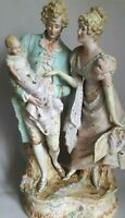 Rare!! Antique Vintage porcelain Figurine old Germany marked Height 36.5 cm