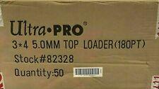 500 Ultra Pro 180pt Super Thick 3x4 Toploaders Sealed Case (40 Packs) TopLoader