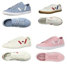 NEW Lacoste Women's Casual Shoes Sideline Lace-Up Fashion Sneakers