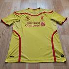Mens Warrior Liverpool Away football shirt 2014 - 2015 Size L
