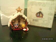 Charming Tails Figurine - Friend Filled Christmas Barn Mib