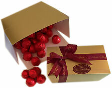 Cherry Liqueur with a whole de-stoned Cherry in Dark chocolate in Red foil 40-41