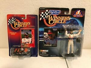 Dale Earnhardt Sr. Collectible Winner's Circle Car & Figure Bundle - NEW IN BOX