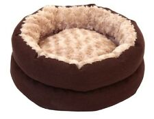 "Luxury, Swill Fur, Fibre Filled Cat Bed 17"" Dia"