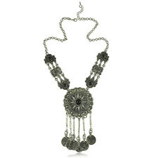 Chic Boho Beads Coin Fringe Belly Women Necklace Bohemian Jewelry Party Gift