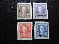 MONACO - timbre yvert et tellier n° 115 a 118 n* (A10) stamp