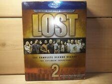 Lost - The Complete Second Season (Blu-ray Disc, 2006, 6-Disc Set)New, Sealed