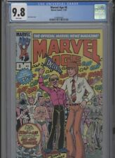 MARVEL AGE #8 MT 9.8 CGC WHITE PAGES STAN LEE COVER