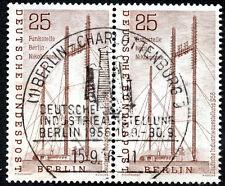Briefmarken aus Berlin (1956-1957) mit Sonderstempel