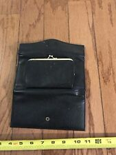 Buxton wallet Women's Black Leather
