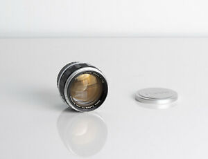 Canon 50mm F1.2 LTM Lens with M mount converted in Excellent condition