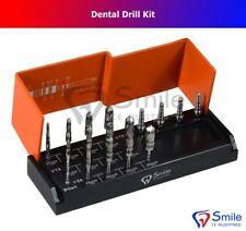 Dental Bur Drills Dental Implant Kit Surgical 17 PCS Includes 4 Guide Pins CE
