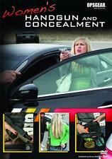 Tactics for Self Defense Women's Handgun and Concealment DVD NEW