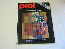PRO MAGAZINE SEPT 12 1976 SAN FRANCISCO VS GREEN BAY PACKERS      T*