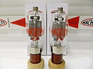 572B Machlett Power Triode Matched Pair (2) Tubes CB Ham Radio