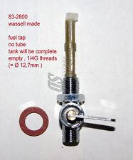 Benzinhahn Triumph BSA Norton fuel taps 1/4G 83-2800 F12800 Wassell made chrom
