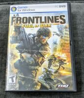 Frontlines Fuel of War by THQ PC DVD Game for Windows Rated T
