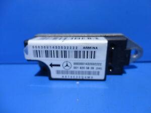 MERCEDES W210 CRASH AIRBAG SENSOR 0018205626