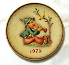 Vtg 1979 M.I. Hummel 9th Annual Collector Plate, Porcelain, Goebel, W. Germany