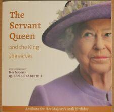 NEW Servant Queen & King She Serves BOOK Queen ELIZABETH 2 England Royal Wedding