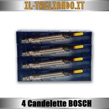 4 Candelette Audi A3, Golf 5 1.9 tdi 66-77kw - 2.0 TDI 103 Kw Motore BMM BOSCH