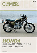 1971-1978 Honda CB350 CB400 CB500 CB550 CB 350 400 500 550 Four CLYMER MANUAL