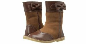 New LIVIE & LUCA Shoes Boots Whitney Suede Leather Brown 9