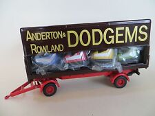 CORGI 'ANDERSON & ROWLANDS CLOSED POLE DODGEMS TRAILER' 1:50 15901 NEW. SHOWMANS