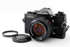 App Mint 🌟 Minolta XD-S Black 35mm SLR Film Camera + MD Rokkor 50mm f/1.4 Japan