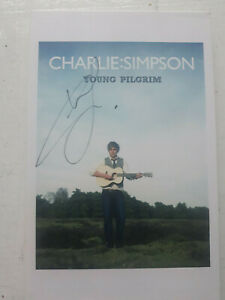 Charlie Simpson - Young Pilgrim (2011) SIGNED/AUTOGRAPHED TWO CDs (Busted)