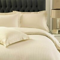 LUXURY 250TC DUVET COVER SET HOTEL QUALITY 100% EGYPTIAN COTTON BEDDING KING