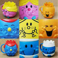 McDonalds Happy Meal Toy Mr Men Little Miss Toys Cups + Boxes Complete FULL SET