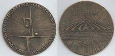 ORIG. les participants médaille sport acrobatie wm poznan (pologne) 1980!!! rare