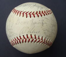 1969 DETROIT TIGERS Team Signed  Baseball JSA