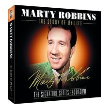 Marty Robbins - The Story of My Life The Signature Series 2 CD & DVD Boxset