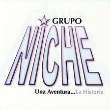 Una Aventura...La Historia [CD/DVD] by Grupo Niche (Latin) (CD, Aug-2007, 2 Disc
