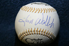 TIM WALLACH SIGNED GOLD GLOVE BASEBALL LOS ANGELES DODGERS MONTREAL EXPOS