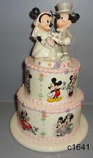 Lenox Disney Mickey MINNIE'S WEDDING DAY WISHES Figurine - New In Box