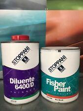 ANTIVEGETATIVA BARCA STOPPANI FISHER PAINT 750ml BLU NAUTICA + DILUENTE 6400/D