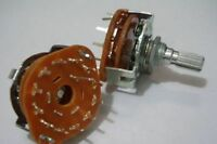 2x Rotary Switch Potentiometer 1 Pole 10 Position for Guitar effect/Audio 1P10T