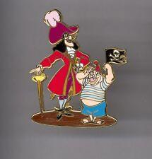 Disney Shopping Peter Pan Villain Captain Hook & Mr. Smee Pirates Le 250 Pin Htf