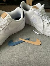 Nike Air Force 1 - Size 12UK - Swappable Swoosh Edition