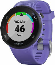 Garmin Forerunner 45s HRM with GPS Running Watch - Purple