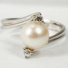 Ringe mit echten Perlen für Akoya 56 (Bildschirmschutzfolien mm Ø)